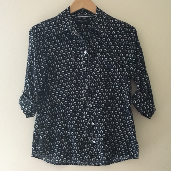 Foxcroft Tops - Foxcroft Wrinkle Free Fitted Fit